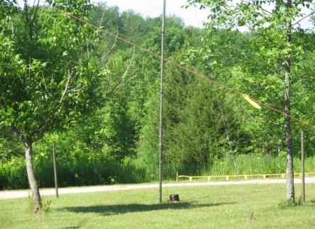 Meter Field Day Vertical Antenna